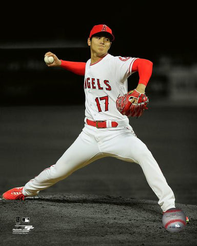 Los Angeles Angels Shohei Ohtani Licensed 8x10 Photo #4