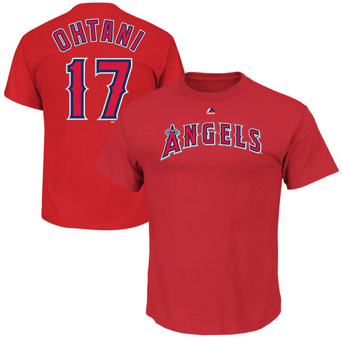 Los Angeles Angels Shohei Ohtani #17 Youth Player Shirt