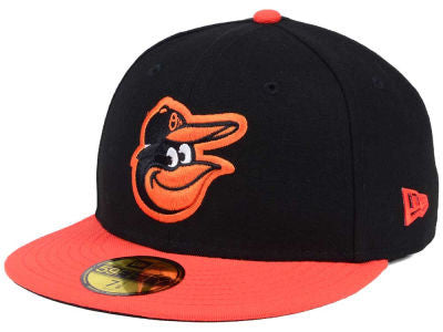 Baltimore Orioles Authentic 59Fifty Black Game Cap