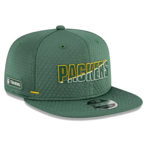 Green Bay Packers 2020 New Era 9FIFTY Training Snapback Hat