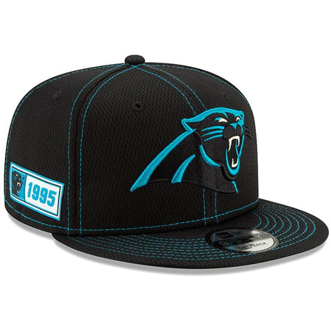 Carolina Panthers New Era 2019 Sideline Official Road 9FIFTY Snapback Cap