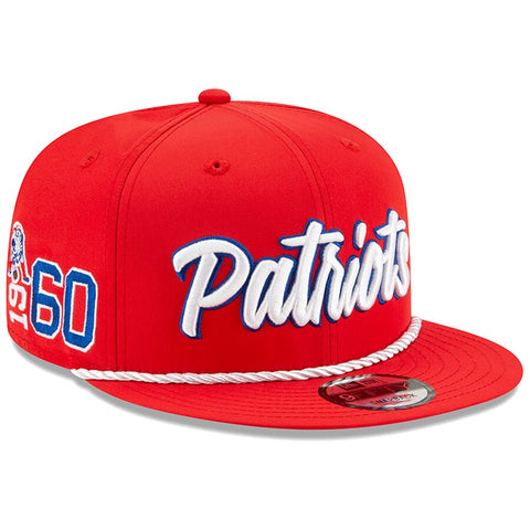 New England Patriots New Era 2019 Sideline Official Home 9FIFTY Snapback Cap