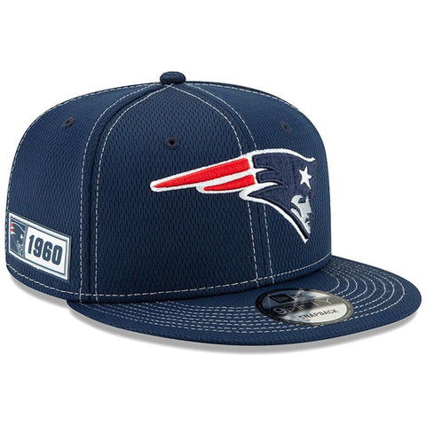New England Patriots New Era 2019 Sideline Official Road 9FIFTY Snapback Cap