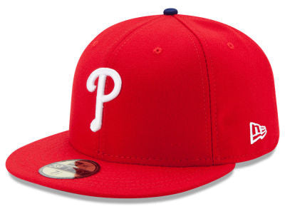 Philadelphia Phillies Authentic 59Fifty Red Game Cap