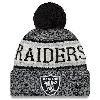 Oakland Raiders 2018 Official Sideline Beanie