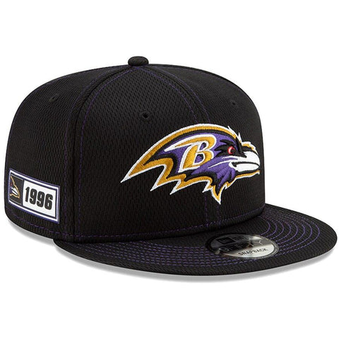 Baltimore Ravens New Era 2019 Sideline Official Road 9FIFTY Snapback Cap