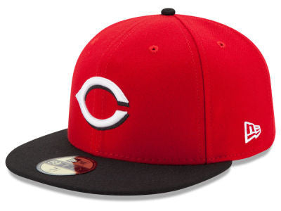 Cincinnati Reds Authentic 59Fifty Alternate Red/Black Game Cap
