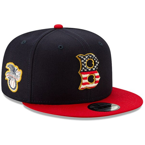 Boston Red Sox 2019 Official Stars and Stripes Snapback Cap