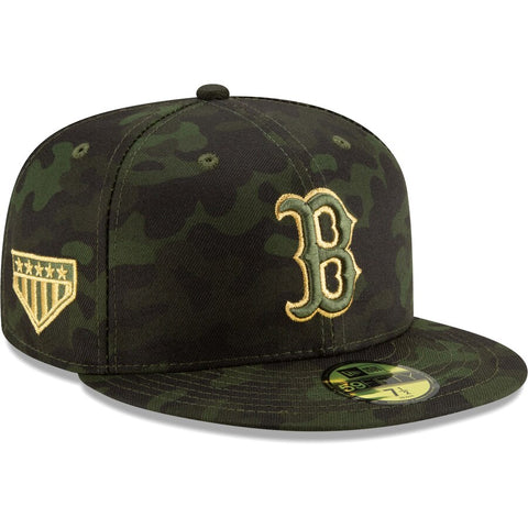 Boston Red Sox 2019 Armed Forces Weekend New Era 59FIFTY Cap