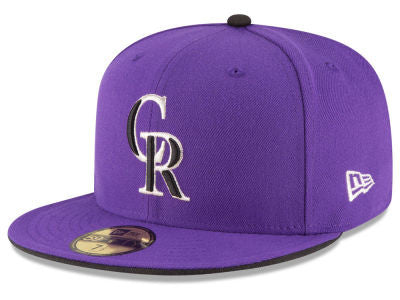 Colorado Rockies Authentic 59Fifty Alternate Purple Game Cap