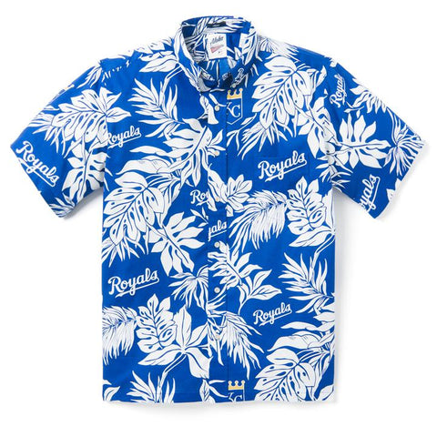 Kansas City Royals 2020 Reyn Spooner Aloha Shirt