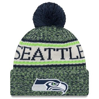 Seattle Seahawks 2018 Official Sideline Beanie