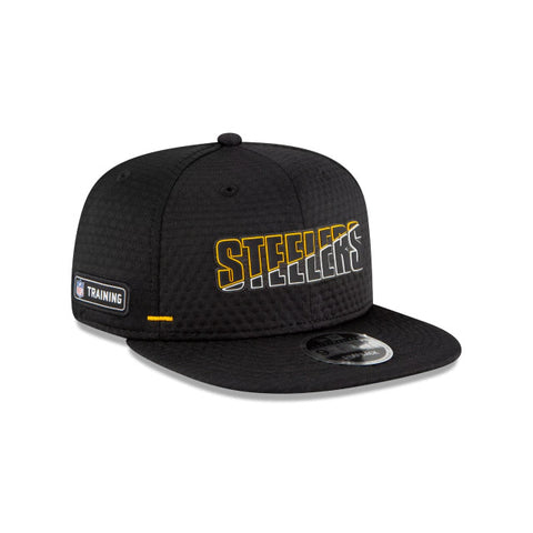 Pittsburgh Steelers 2020 New Era 9FIFTY Training Snapback Hat