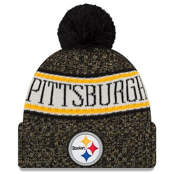 Pittsburgh Steelers 2018 Official Sideline Beanie