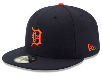 Detroit Tigers Authentic 59Fifty Road Game Cap