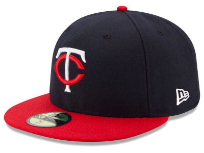 Minnesota Twins Authentic 59Fifty Navy/Red Game Cap