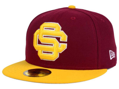USC Trojans New Era Interlocked Baseball Logo 59FIFTY Cap