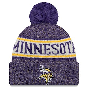 Minnesota Vikings 2018 Official Sideline Beanie