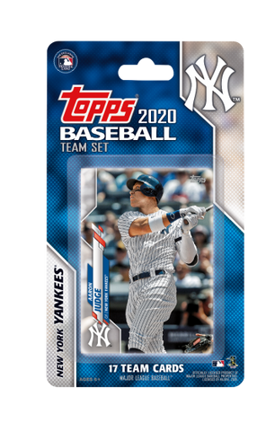 New York Yankees 2020 Topps Team Set