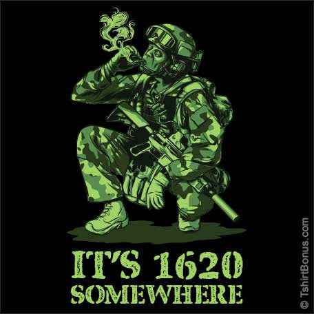 It's 1620 Somewhere (420 T-Shirt)