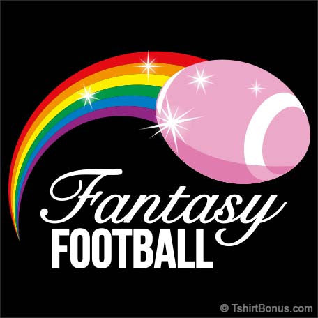 Rainbow Fantasy Football T-Shirt