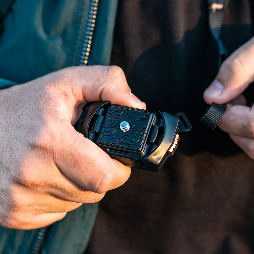 Belay | Quick-Release Camera Strap [Mount Only]