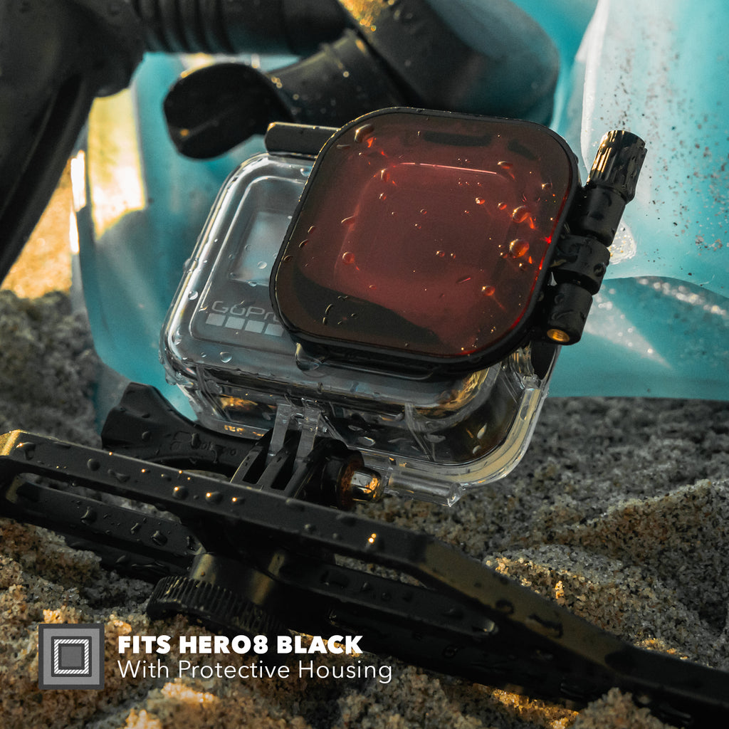 Red Filter | HERO8 Black Protective Housing