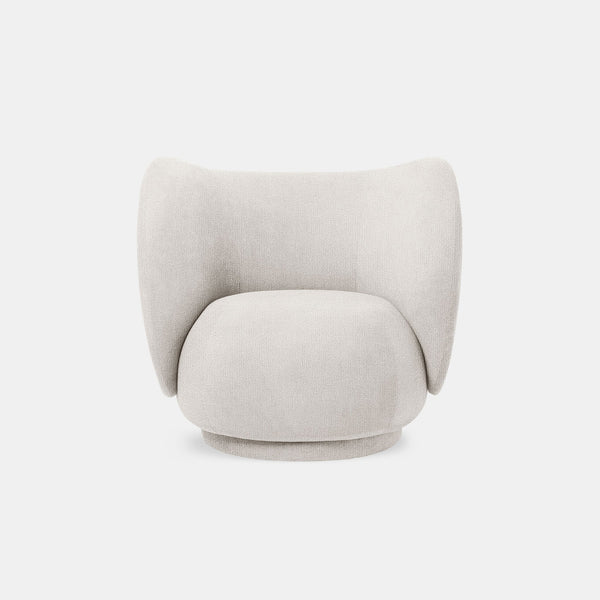 Rico Lounge Chair - Bouclé - Monologue London
