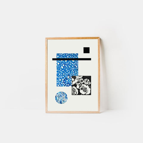 Material Matter #1 - Terrazzo Blue - Monologue London