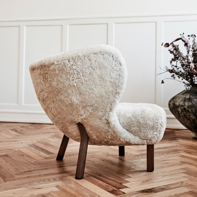Little Petra Chair VB1 - Moonlight Sheepskin - Monologue London