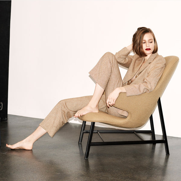 Catch Lounge Chair JH13 - Beige