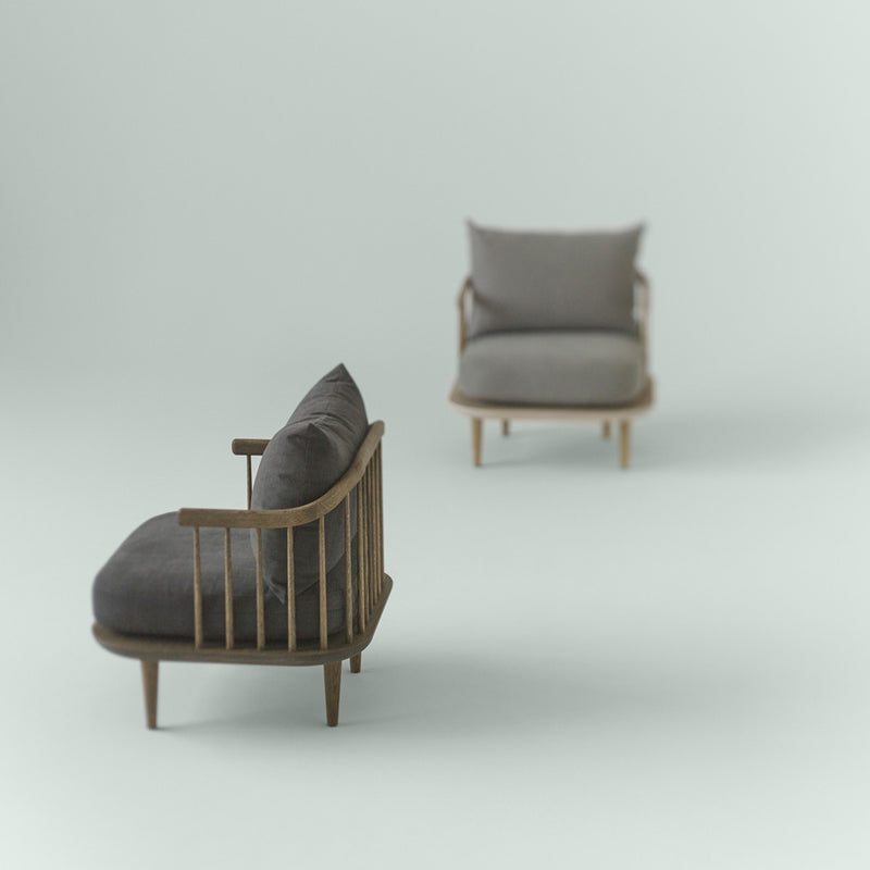 Fly Chair SC10 - Smoked oak - Monologue London