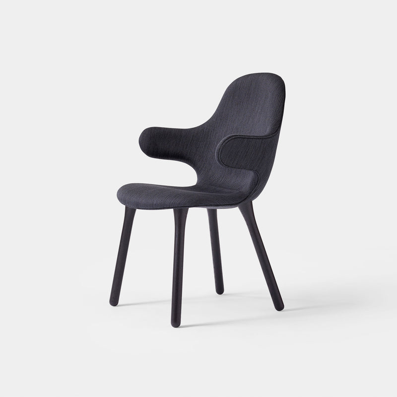 Catch Chair JH1 - Black Lacquered Oak - Monologue London