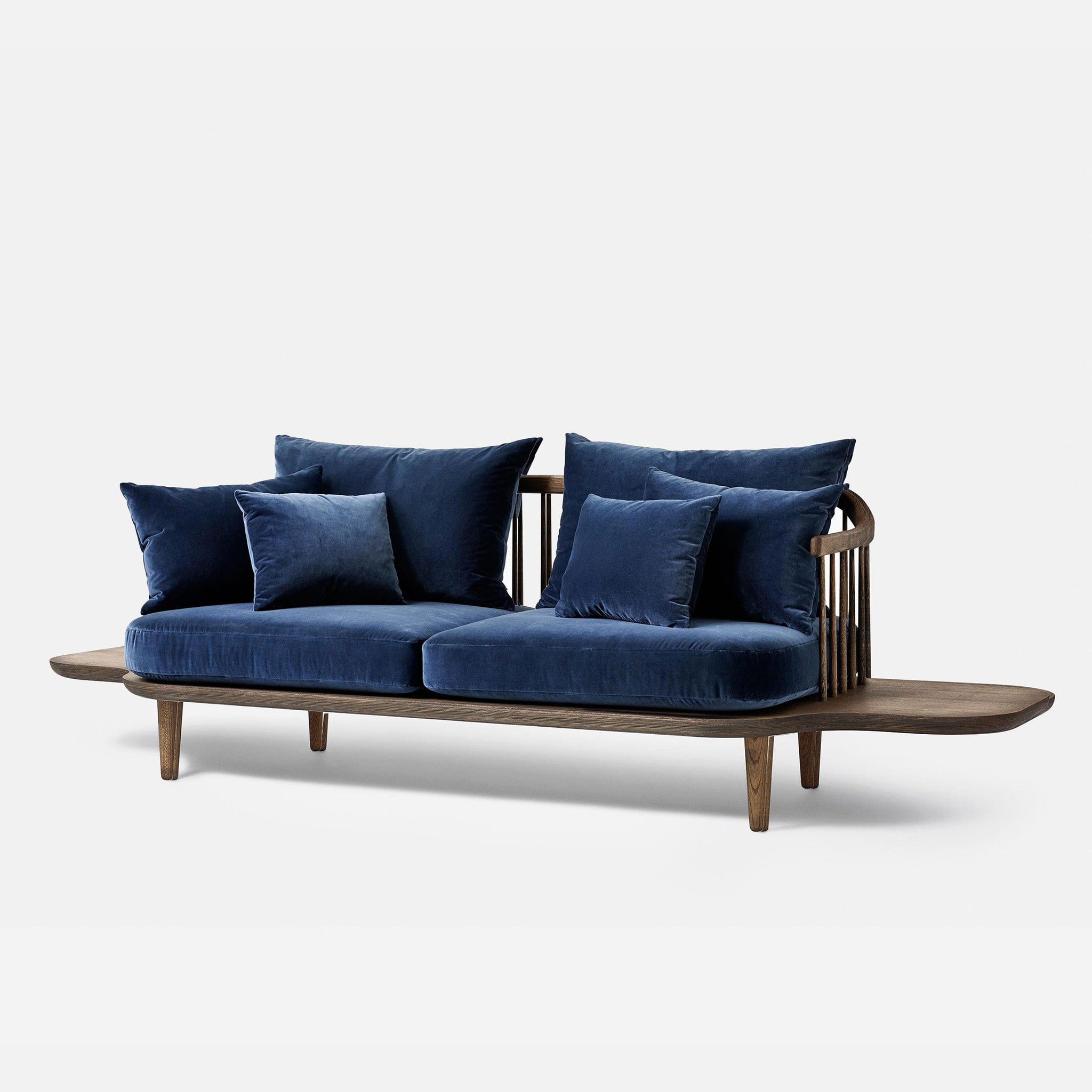 Fly Sofa With Side Tables   SC3   Blue   Monologue London ...
