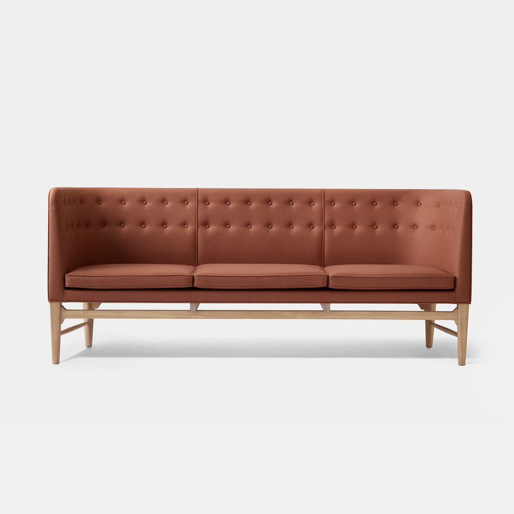 Mayor Sofa - AJ5 - White Oiled Oak / Brown - Monologue London