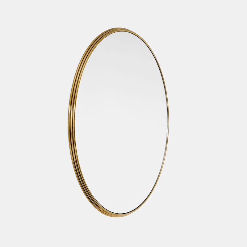 Sillon Round Mirrors - Brass - Monologue London