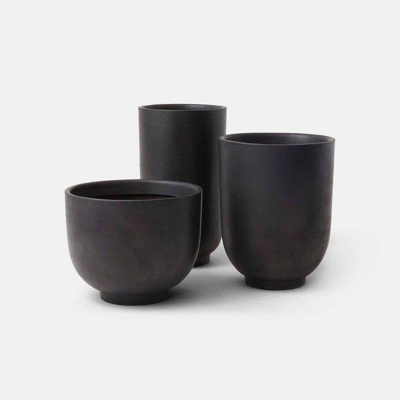 Collect Planters - Shadow Grey - Monologue London