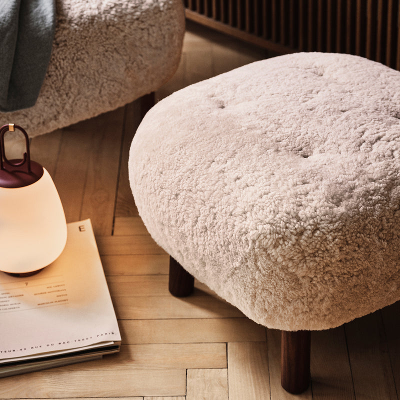 Little Petra Pouf ATD1 - Sheepskin