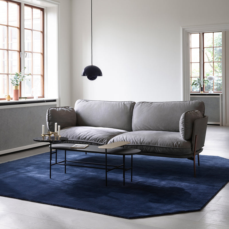 The Moor Rug AP6 - Midnight Blue - Monologue London