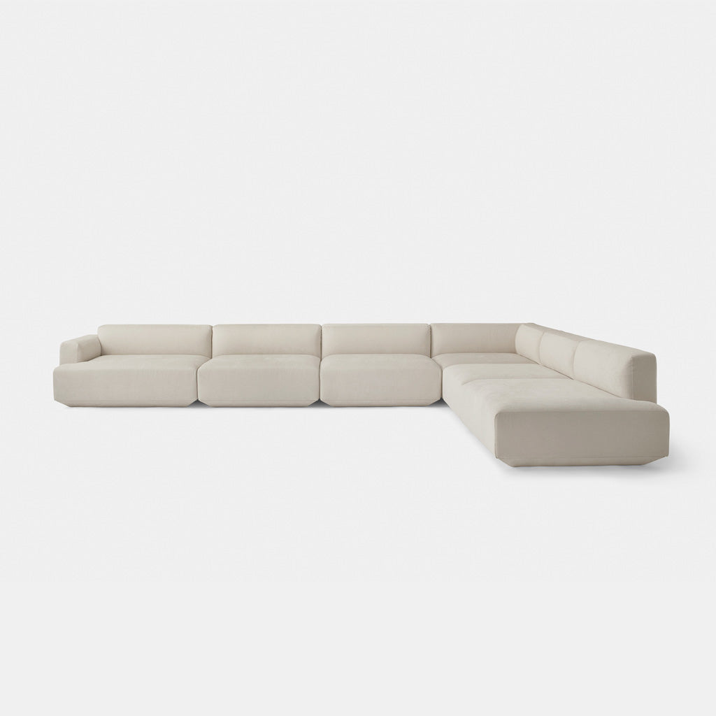 Develius Modular Sofa, Large   Beige   Monologue London ...