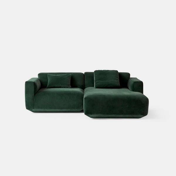 Develius Modular Sofa, Conf. B - Green