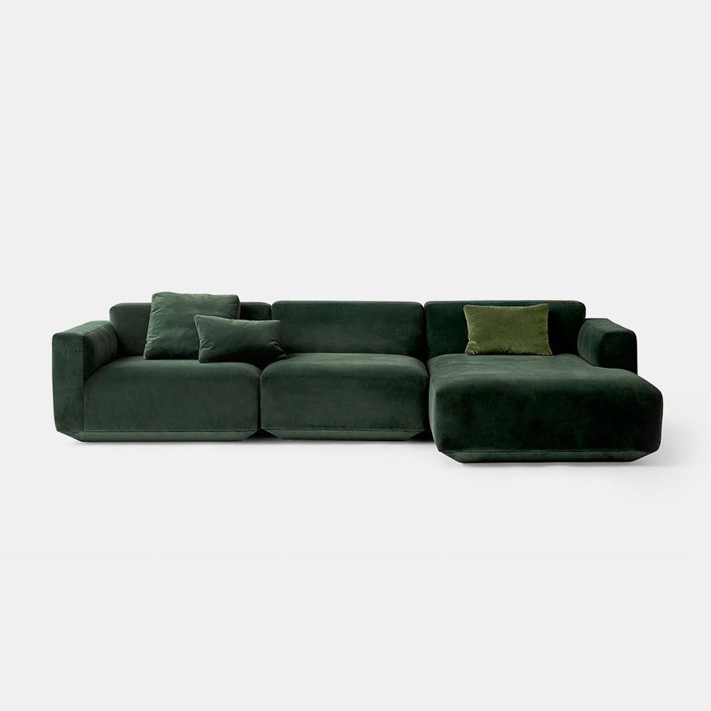 ... Develius Modular Sofa, Conf. F   Green   Monologue London