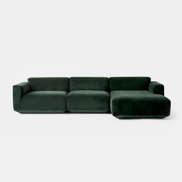 Develius Modular Sofa, Conf. F - Green