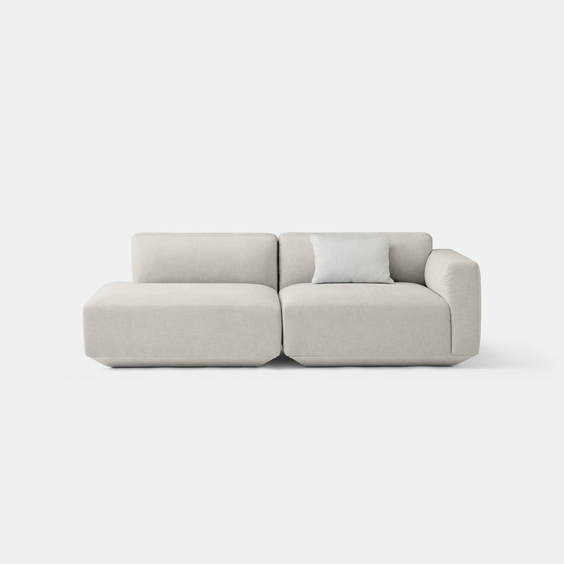 Develius Modular Sofa, Conf. H - Grey - Monologue London
