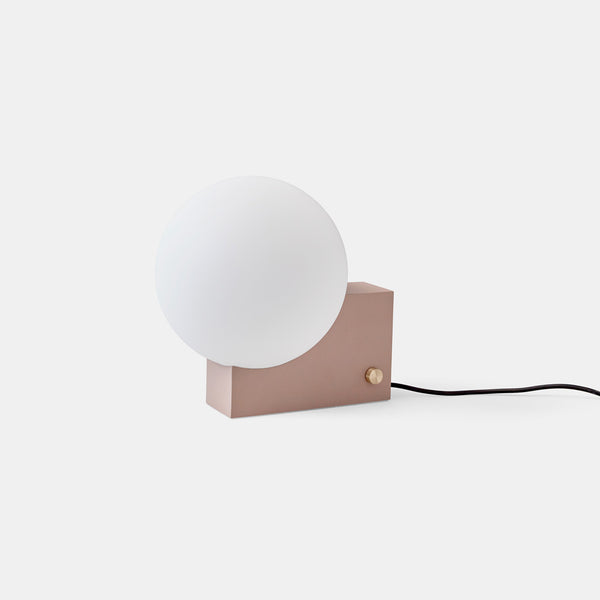 SHY1 Journey wall & table lamp - Clay - Monologue London