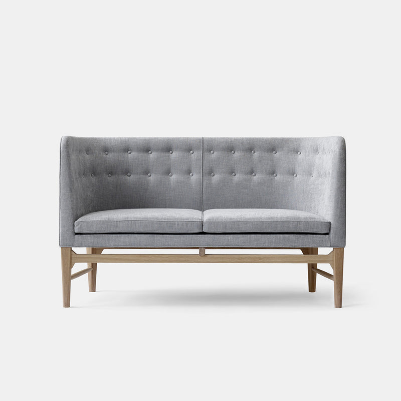 Mayor Sofa - AJ6 - White Oiled Oak/Light Grey - Monologue London