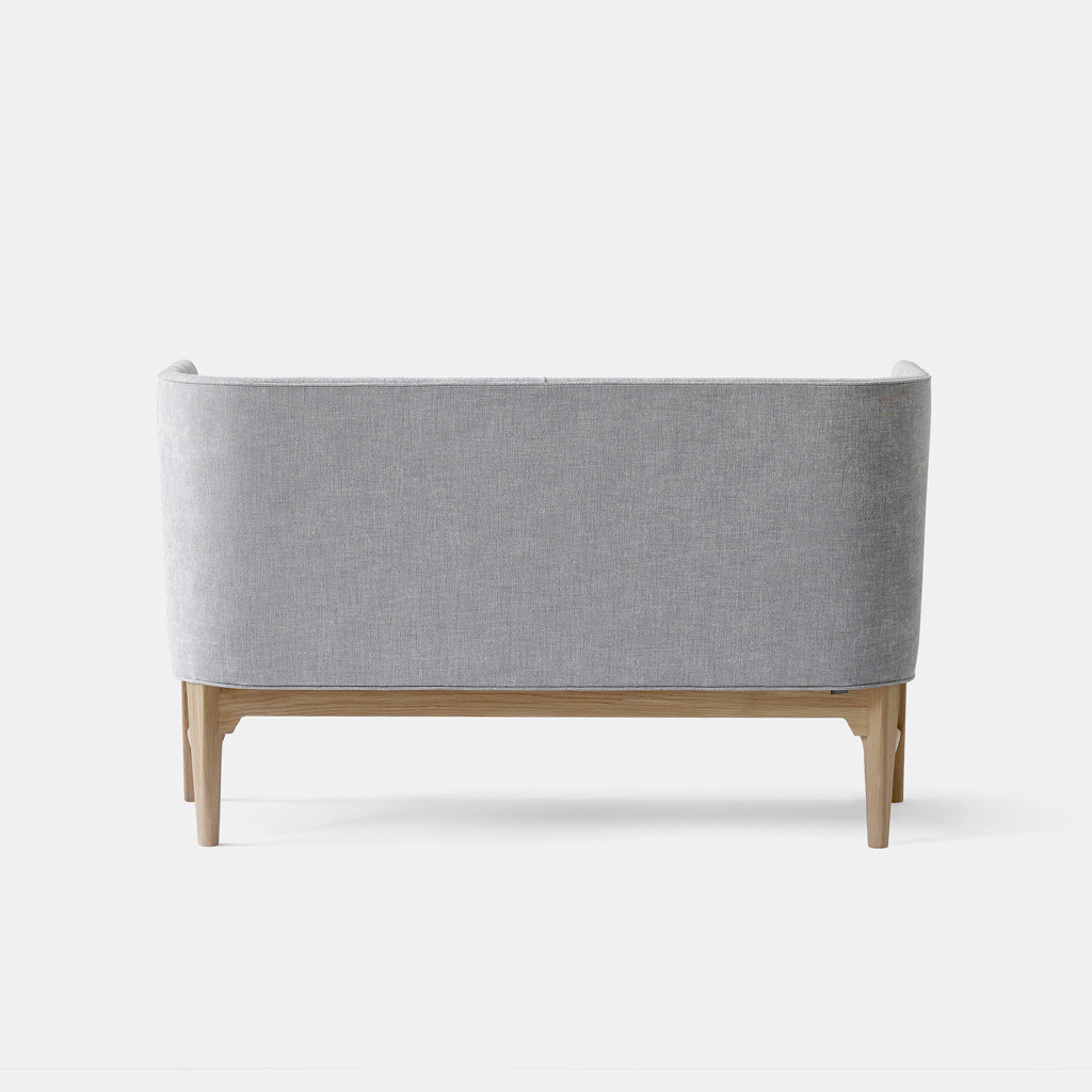 Mayor Sofa - AJ6 - White Oiled Oak / Light Grey - Monologue London