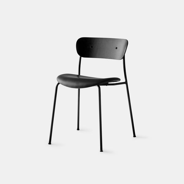 Pavilion Chair AV3 - Black Lacquered Oak - Monologue London