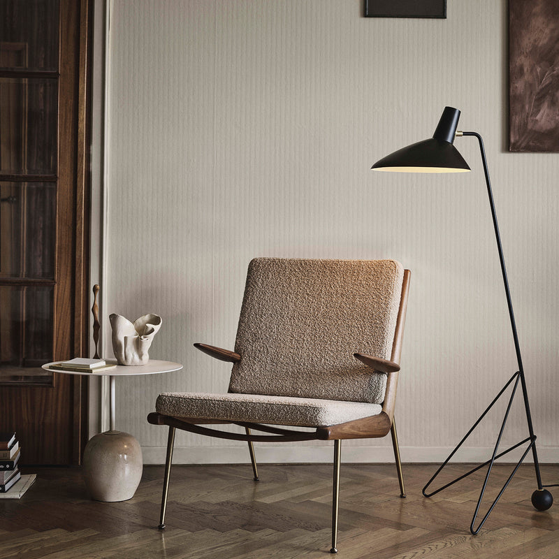 Boomerang Lounge Chair HM1 - Oak - Monologue London