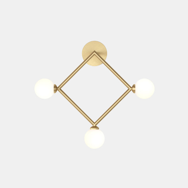 Rhombus Wall Lamp - Monologue London